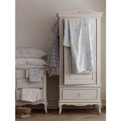 Shabby Chic Bedroom Sanding and reprinting and changing handles on your pine stuff