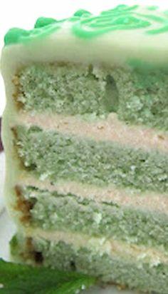 Vanilla Mint White Chocolate Cake