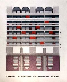 Barbican Exhibition – Designing for a Living City Futurism Architecture, London Architecture, Brutalist Buildings, Brick Arch, Barbican, Ceramics Projects, Stairs, London City, Poster Prints