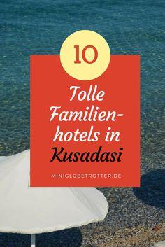 10 tolle Familienhotels in Kusadasi. Hotel-Tipps, damit ihr wisst, was ihr für eure Familie buchen sollt. Urlaub in der Türkei mit Kind. Baby Hotel, Kusadasi, Beste Hotels, Globetrotter, Cover, Books, Bucket, Happiness, Travel