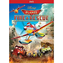 Planes: Fire and Rescue DVD