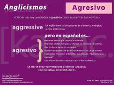 Anglicismos - Agresivo