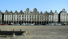 Arras, Nord-Pas de Calais.