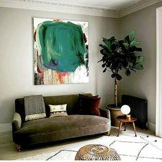 ⚫l i v i n g • w i t h • a r t ⚫ The work of the painter @peter_bonde