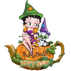 Betty Boop Clip Art | Betty Boop Halloween Images