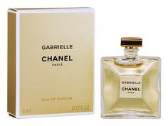 Miniature Gabrielle (Eau de parfum Chanel - Photo Luc_T - Miniature Parfum, Miniatures, Chanel Paris, Perfume Bottles, Collection, Hair, Miniature, Perfume Bottle, Mockup