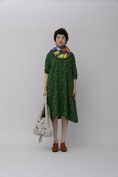 minä perhonen spring/summer 2014 collection Japanese Fashion, Asian Fashion, Fashion Beauty, Girl Fashion, Fashion Outfits, Womens Fashion, Hippy Chic, Lovely Dresses, Loose Dresses