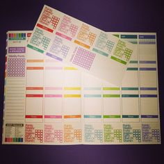 """""""Happy Friday! I have decided to sell the weight watcher tracker stickers for the bottom of the wellness journal. No, I am not opening up a shop – I know…"""""""
