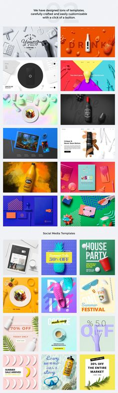 Unicolor Mockup Pack by Mockup Zone on @creativemarket