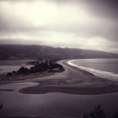Stinson Beach spit from the Bolinas headlands