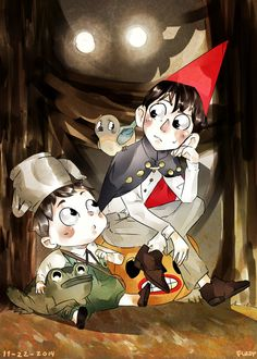Over The Garden Wall by TheFuzziestMushroom on DeviantArt Gravity Falls, Garden Falls, Over The Garden Wall, Mysterious Places, Animation Series, I Fall In Love, Creepy, Anime, Geek Stuff