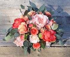 Holly's Flower Shoppe ships forever bouquets  from Etsy.