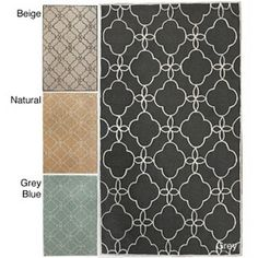 Handmade Luna Easy Care Trellis Rug (5' x 8'), $182 [Item#: 14040286]