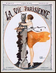 LA VIE PARISIENNE.....1916.....SOURCE SYDNEYFLAPPER.TUMBLR.COM..............