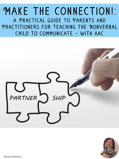 Meet the needs of your nonverbal child. Become comfortable with how to communicate with your child or student and how to teach them communication & language skills. This book gives you a roadmap for implementing AAC. Terms are defined, options explained, Speech Language Therapy, Speech And Language, Speech Therapy, Communication Development, Language Development, Teaching Special Education, Teaching Resources, Teaching Ideas, Differentiated Instruction