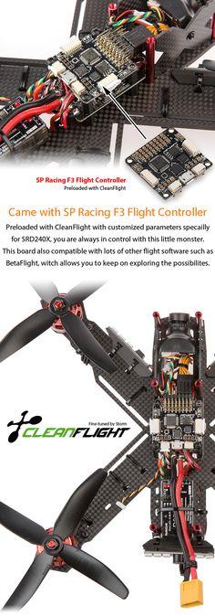 STORM Racing Drone (RTF / SRD240X / CleanFlight) http://www.helipal.com/storm-racing-drone-rtf-srd240x-cleanflight.html