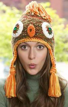 It's a Hoot Knit Owl Hat: #knit #knitting #free #pattern #freepattern #freeknittingpattern #knittingpattern
