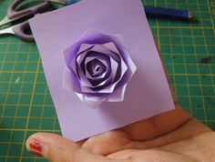 Quilling Me Softly: Punch craft rose tutorial Origami And Quilling, Quilling Art, Quilling Ideas, Rose Tutorial, Paper Flower Tutorial, Diy Flowers, Paper Flowers, Pretty Things, Paper Art