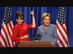 I almost wish Sarah Palin would run so that Tina Fey would come back and do impressions on SNL... :(