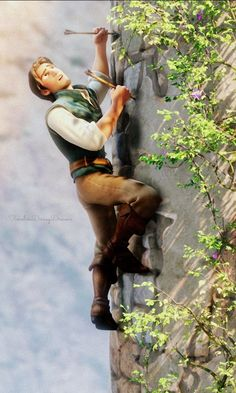 OH MY GOSH DISNEY I could have been a normal person who is not obsessed with fictional animated characters but no. You just had to make Flynn Rider. Now no man I ever meet will be good enough because they will not live up to this perfect man!!!