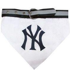 New York Yankees Pet Collar Bandana - Large