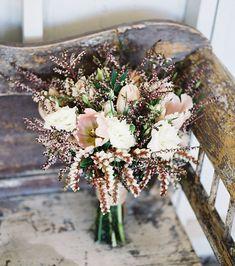 Pieris japonica + tulip bouquet