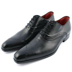 Chaussure italienne homme Gatsby en cuir de qualité noir - Exclusif