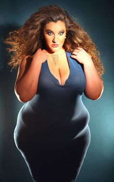 Velvet D'Amour. My second favorite model. She always rocks the runway!! (plus size, size acceptance)