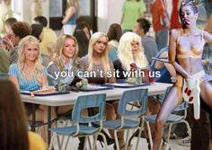 Nie możesz z nami usiąść.