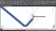 สอนโปรแกรมเขียนแบบ [AutoCAD Plant 3D] ตอน ใช้งาน Pipe Bend-Cutback Elbow...
