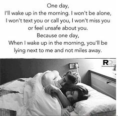 63 Ideas Good Morning Quotes For Him Long Distance Feelings Cute Love Quotes, Soulmate Love Quotes, Love Quotes For Her, Romantic Love Quotes, True Quotes, Quotes Quotes, Can't Wait To See You Quotes, Romantic Couples In Bed, Qoutes
