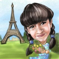 Travel Caricatures by Photolamus