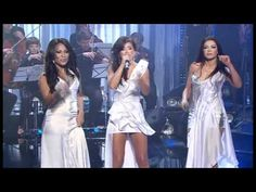"""Ruslana (Eurovision 2004), Ani Lorak (Eurovision 2008) and Gaitana (Eurovision 2012) sing """"Never Never Gonna Give You Up"""", from Barry White"""
