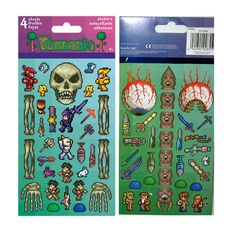 Terraria Stickers- Party Favors or DIY Goodie Bags... from PartyMajors