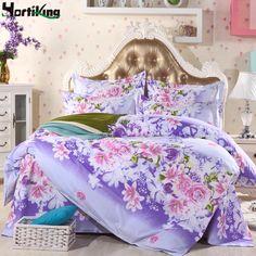 Home Textiles cotton 4pcs Bedding Set Bedclothes include Duvet Cover Bed Sheet Pillowcase Comforter Bedding Sets Bed Linen #Affiliate