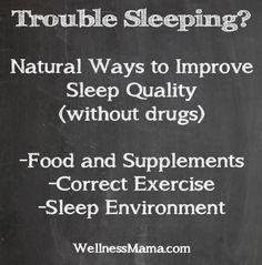 Ways to Improve Sleep Naturally - Wellness Mama