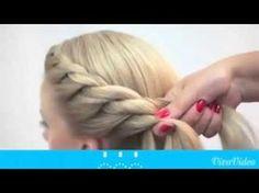 durchgezogener Zopf♥ besser als flechten♥Frisur für Mädchen folge 2 - YouTube