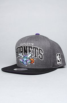 Charlotte Hornets Mitchell and Ness Snapback on Karmaloop.com - Use code SMARTCANUCKS at the CHECKOUT for 20% OFF