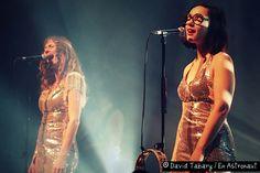 le groupe Brigitte (en concert à Amiens)
