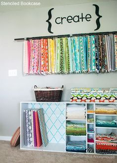 Fabric Storage - can a girl dream!