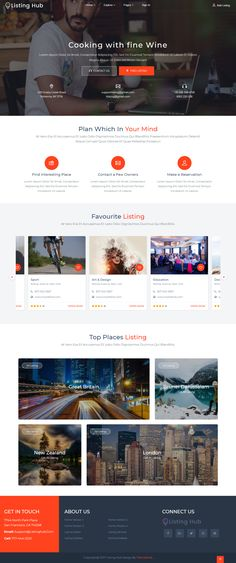 Listing hub directory listings html template template business directory listings template build on boostrap 37 with more features and developer friendly accmission Choice Image