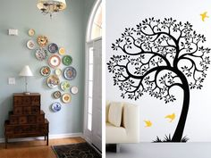 Bare walls are a bore. In fact, I can't understand why anyone would leave a wall blank and untouched when there's so much fun you can have with it. Whether it's a small space or a large one, use your walls to add character to your home. Check out these five creative ideas to spruce up a bare wall.Image via mmmcrafts, projectnurseryMust-see: Smart Coffee Table Ideas for Small Homes