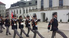 The changing of the guard ceremony occurs at 13:00 weekdays at the Presidential Palace in #Bratislava, #Slovakia. Have you ever seen it?
