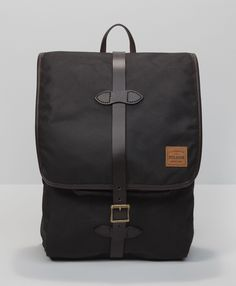 Levi's Levi's® X Filson® Tin Cloth Backpack - Black - Bags & Wallets