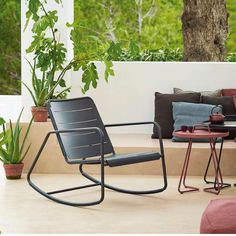 Shop the Copenhagen Rocking Chair and more contemporary furniture designs by Cane-Line at Haute Living.