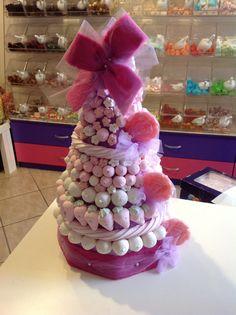 Tarta de chuches - Candy cake - Gâteau de bonbons - Snoeptaart