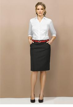 ab579d58de2d6 24015 Ladies Multi Pleat Stretch Skirt. Corporate OutfitsCorporate WearCorporate  UniformsOffice Wear ...