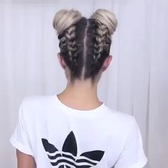 Do you wanna learn how to styling your own hair? Well, just visit our web site t.Do you wanna learn how to styling your own hair? Well, just visit our web site to seeing more amazing video tutorials! Box Braids Hairstyles, Cute Hairstyles, Hipster Hairstyles, Hairstyles Videos, Braids For Long Hair, Hair Videos, Makeup Videos, Braid Styles, Hair Inspiration