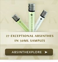 Absinthe Samplers, oh yes am gonna have to get one and try this drink for myself.