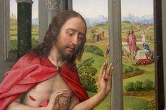 Rogier van der Weyden - The Altar of Our Lady. Miraflores Altar. Detail. 1440